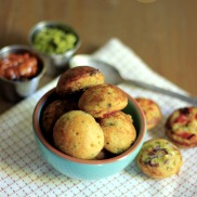 Savory Paniyaram Spicy Ebelskivers
