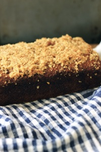 Banana-Oat Bread Loaf