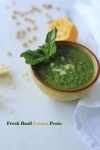 Basil-Lemon Pesto
