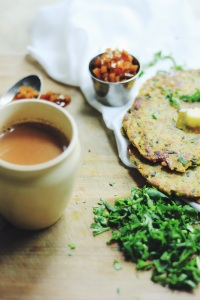 Masala Chai is the best complement to Methi's thepla